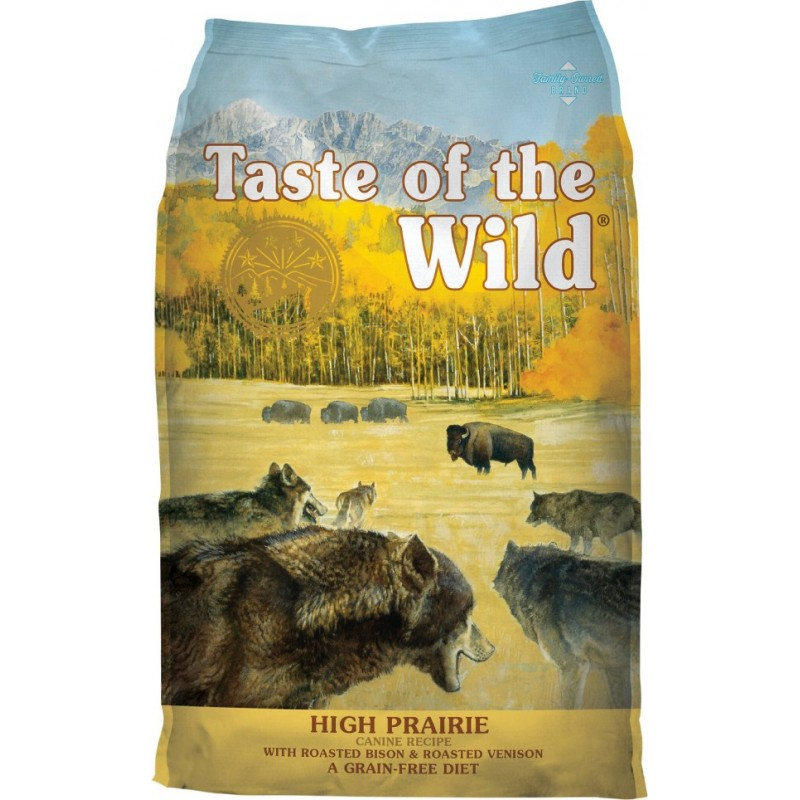 Taste of the Wild High Prairie Canine 12,2kg + 2kg Δώρο ΞΗΡΑ ΤΡΟΦΗ ΣΚΥΛΟΥ