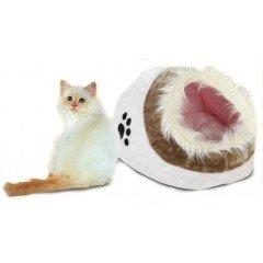 Κρεβατάκι-φωλιά για γάτες και μικρούς σκύλους Vitakraft 41x28x26h Ροζ