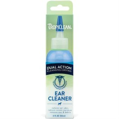 TROPICLEAN EAR CLEANER  DUAL ACTION - ΚΑΘΑΡΙΣΤΙΚΟ ΑΥΤΙΩΝ 118ml