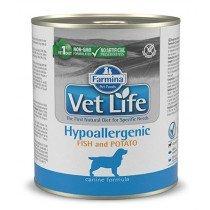 FARMINA VET LIFE HYPOALLERGENIC FISH & POTATO WET FOOD DOG 300gr