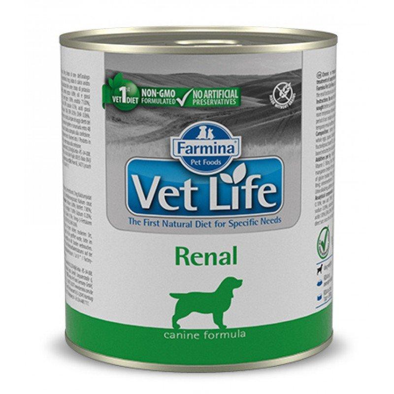 FARMINA VET LIFE RENAL WET FOOD DOG 300gr