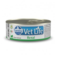 FARMINA VET LIFE RENAL WET FOOD CAT 85gr