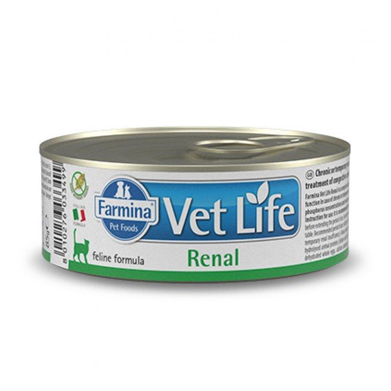 FARMINA VET LIFE RENAL WET FOOD CAT 85gr
