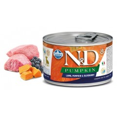 N & D PUMPKIN WET LAMB & BLUEBERRY PUPPY 140GR (3 + 3 ΔΩΡΟ)