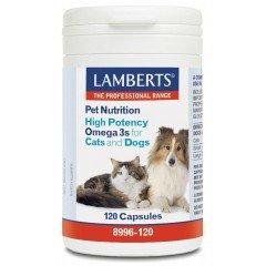 LAMBERTS DOG OMEGA 3 (ΣΚΥΛΟΥΣ ΚΑΙ ΓΑΤΕΣ)  120tabs