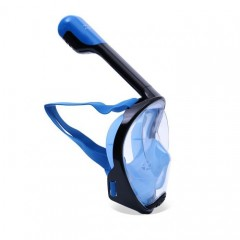 ΜΑΣΚΑ ΘΑΛΑΣΣΗΣ FULL FACE FREE BREATH BLUE - BLACK Small - Medium