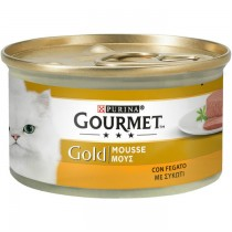 Purina Gourmet Gold  Mousse Με Συκώτι 85gr