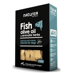 Naturea Fish, olive oil & aromatic herbs 140gr