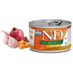N & D PUMPKIN QUAIL & PUMPKIN 140GR (1 + 1 ΔΩΡΟ)