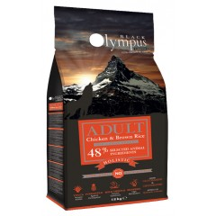 BLACK OLYMPUS ADULT MAXI CHICKEN & BROWN RICE 12kg