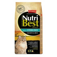 NUTRIBEST PICART CAT STERILISED SALMON & RICE 8kg