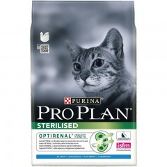 PRO PLAN CAT STERILISED 3KG ΚΟΥΝΕΛΙ