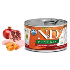 N & D PUMPKIN WET CHICKEN & POMEGRANATE 140GR (3 + 3 ΔΩΡΟ)