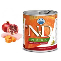 N & D PUMPKIN WET CHICKEN & POMEGRANATE 285GR (3 + 3 ΔΩΡΟ)