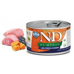 N & D PUMPKIN WET LAMB & BLUEBERRY 140GR (3 + 3 ΔΩΡΟ)