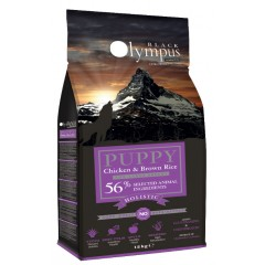BLACK OLYMPUS PUPPY ΜΑΧΙ CHICKEN & BROWN RICE 12kg
