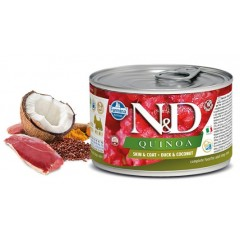N & D QUINOA WET SKIN & COAT DUCK 140GR (3 + 3 ΔΩΡΟ)
