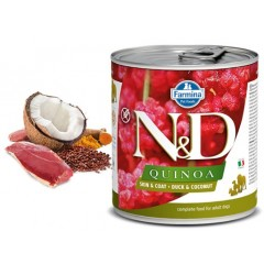 N & D QUINOA WET SKIN & COAT DUCK 285GR (3 + 3 ΔΩΡΟ)
