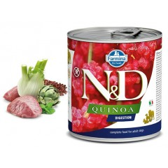 N & D QUINOA WET DIGESTION LAMB 285GR (3 + 3 ΔΩΡΟ)