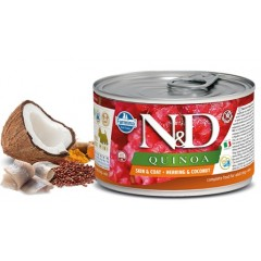 N & D QUINOA WET SKIN & COAT HERRING 140GR (3 + 3 ΔΩΡΟ)