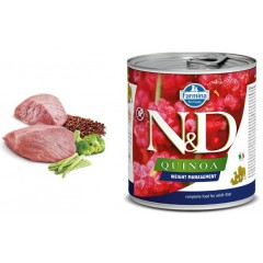 N & D QUINOA WET WEIGHT MANAGEMENT LAMB 285GR (3 + 3 ΔΩΡΟ)