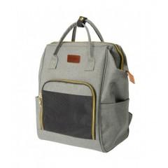 Τσάντα Μεταφοράς  Σακίδιο Πλάτης Camon Pet Fashion 20x30x43cm Γκρι