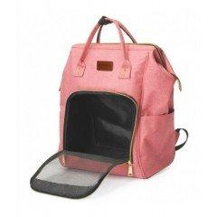 Τσάντα Μεταφοράς  Σακίδιο Πλάτης Camon Pet Fashion 20x30x43cm Ροζ